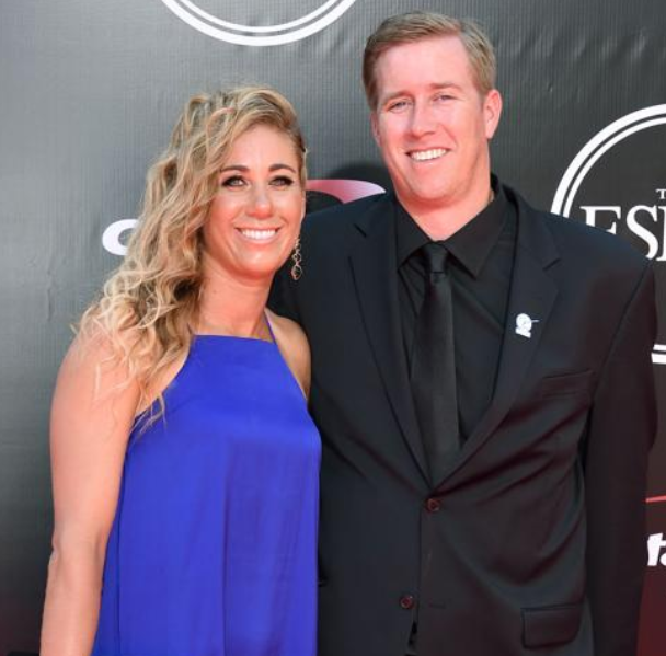 April Ross and her ex-husband, Brad Keenan