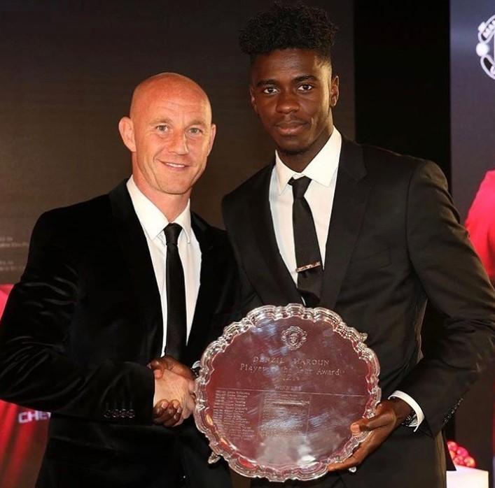 Axel Tuanzebe awards