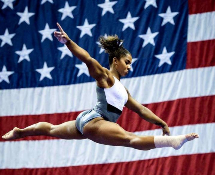 American artistic gymnast, Jordan Chiles