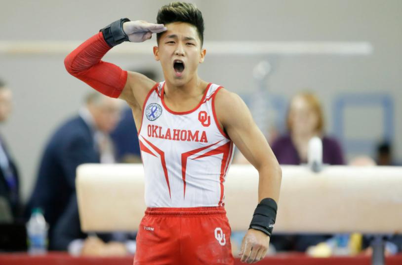 American artistic gymnast, Yul Moldauer
