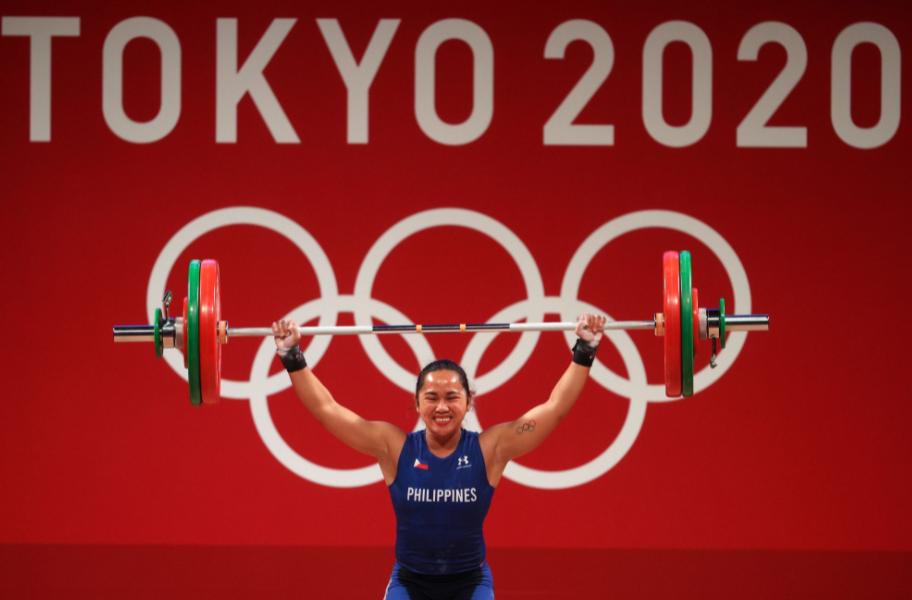 Hidilyn Diaz wins first Olympic gold medal