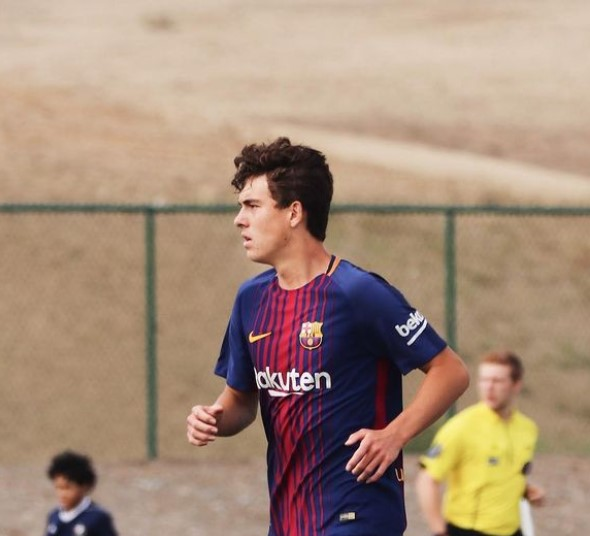 Matthew Hoppe Barcelona