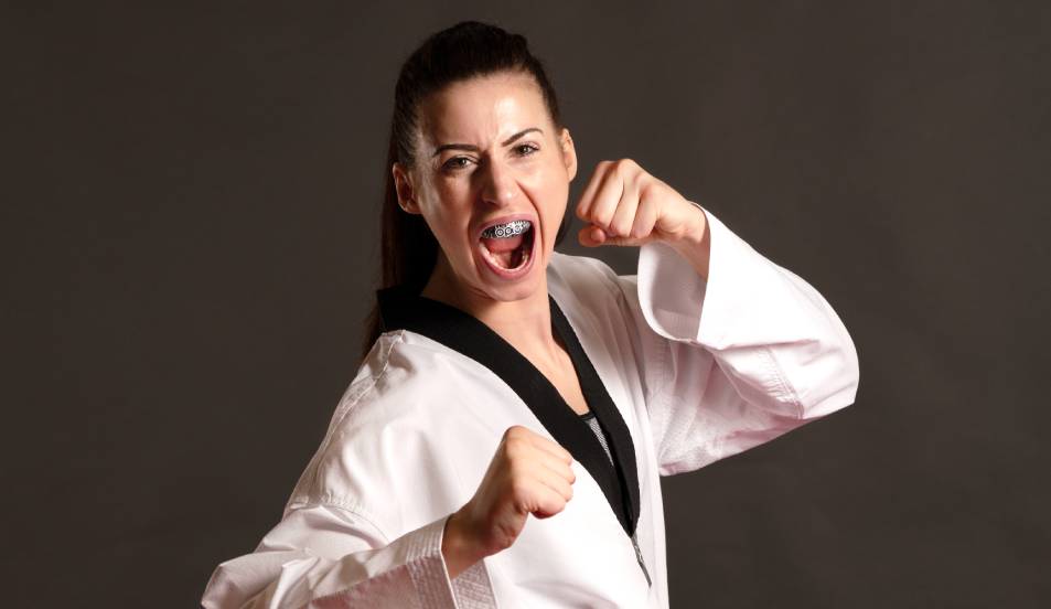 British taekwondo competitor, Bianca Walkden