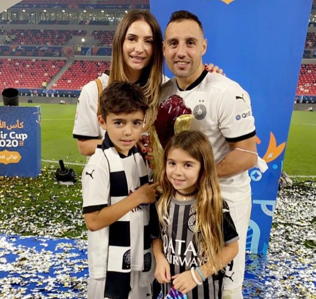 Santi Cazorla family