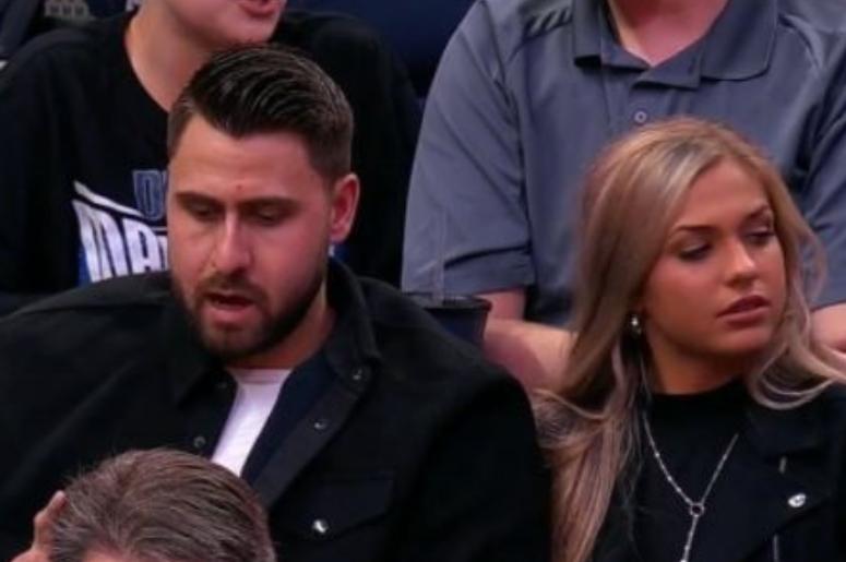 Joey Gallo and his girlfriend, Shelbi Alyssa
