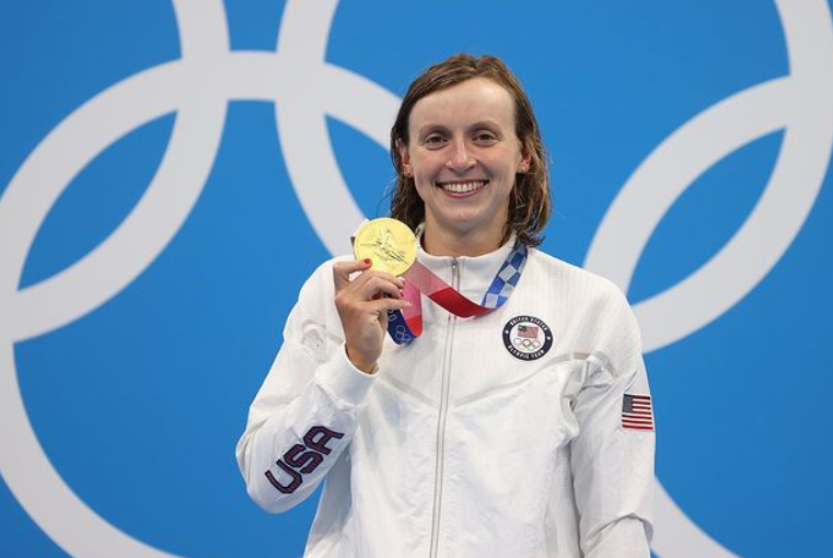 Katie won the 800m gold at the 2012 London Olympics