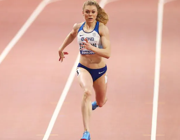 Belarusian sprinter, Krystsina Tsimanouskaya