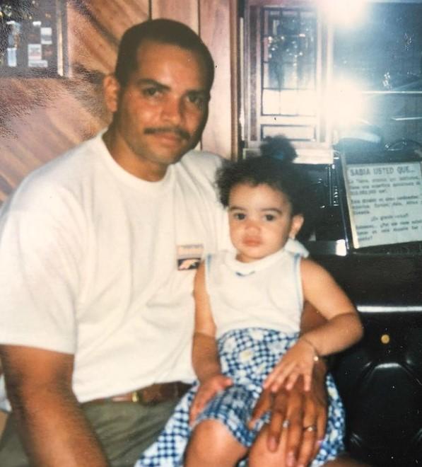 Leslie Grace father