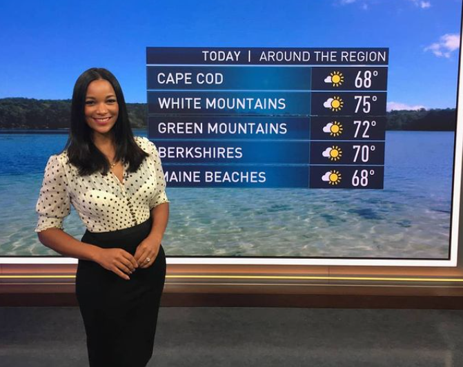 Denise Isaac, American meteorologist, weather anchor, and forecaster