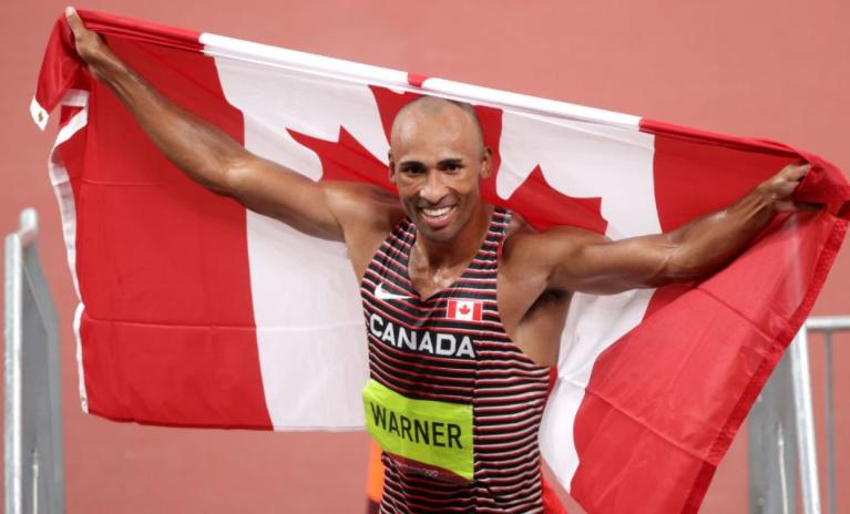 Canada's Warner wins Olympic decathlon gold