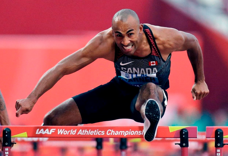 Canadian track and field athlete, Damian Warner