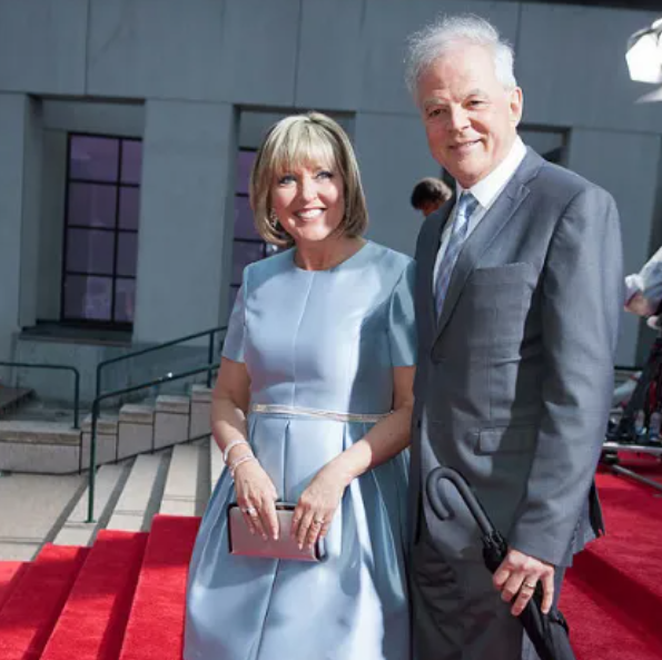 Pascale Nadeau with her husband, Martin Cloutier