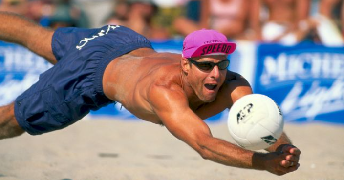 Karch Kiraly won gold medals at the 1984 and 1988 Olympic Games