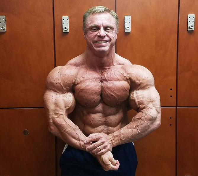 American bodybuilder, John Meadows