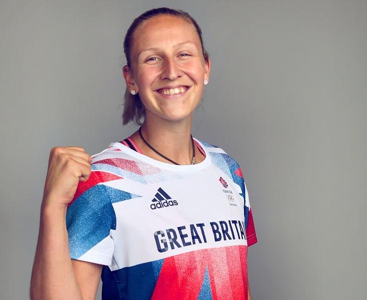 British track and field athlete, Holly Bradshaw