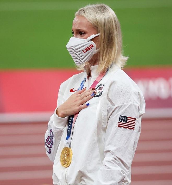 Katie Nageotte gold medal