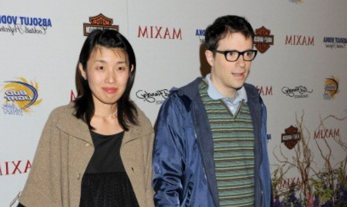 Rivers Cuomo and his wife, Kyoko Ito