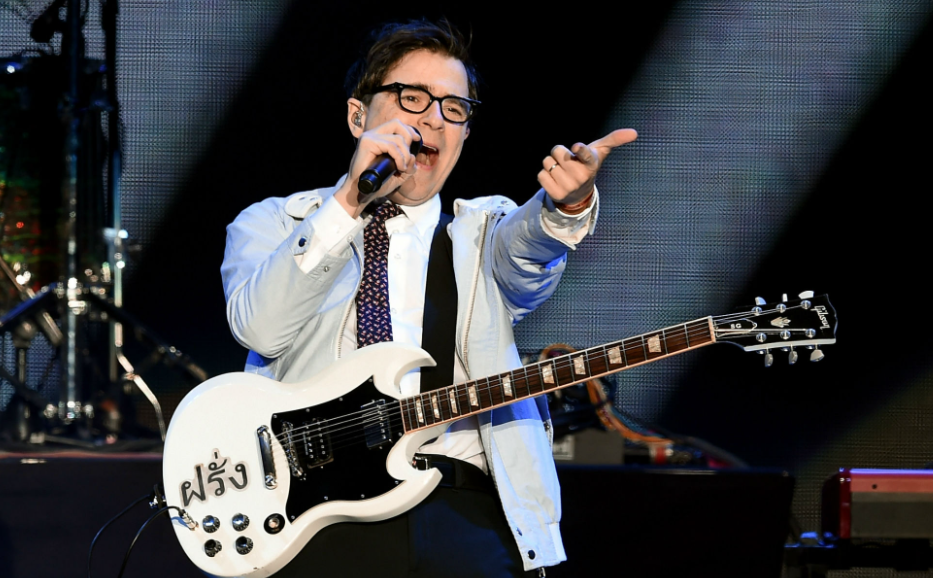 Rivers Cuomo is the lead vocalist, guitarist, and songwriter of the rock band Weezer
