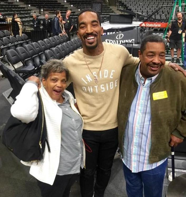J.R. Smith parents