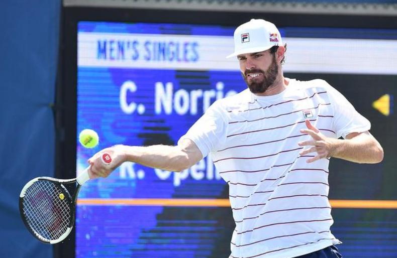 Professional tennis player, Reilly Opelka