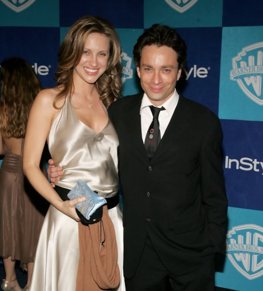 Chris Kattan and his wife, Sunshine Deia Tutt