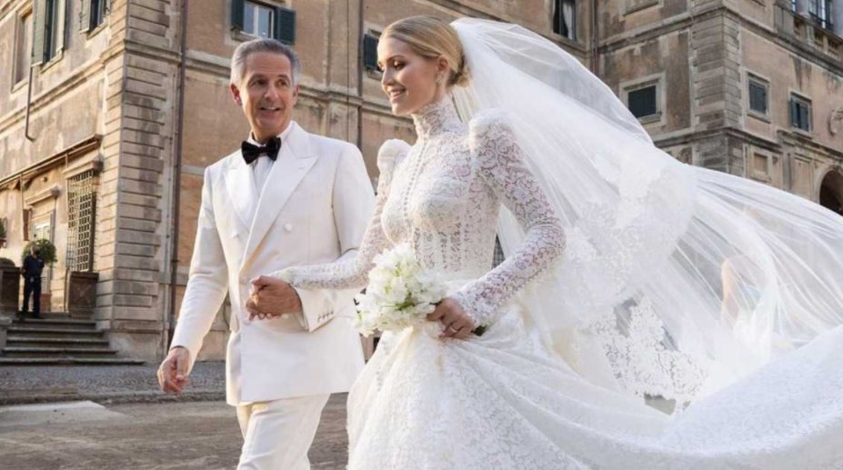 Lady Kitty Spencer and her husband, Michael Lewis