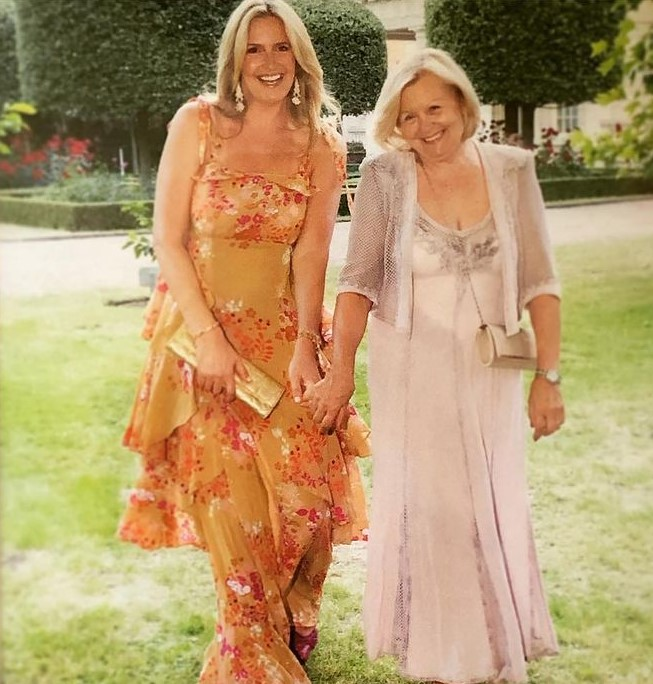 Penny Lancaster mother