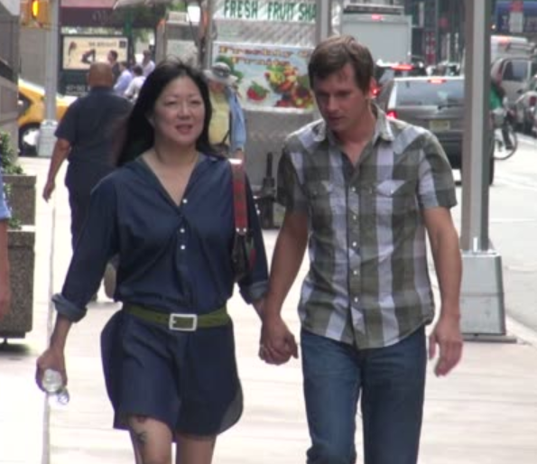 Margaret Cho and her ex-husband, AI Ridenour spotted in public place holding hand