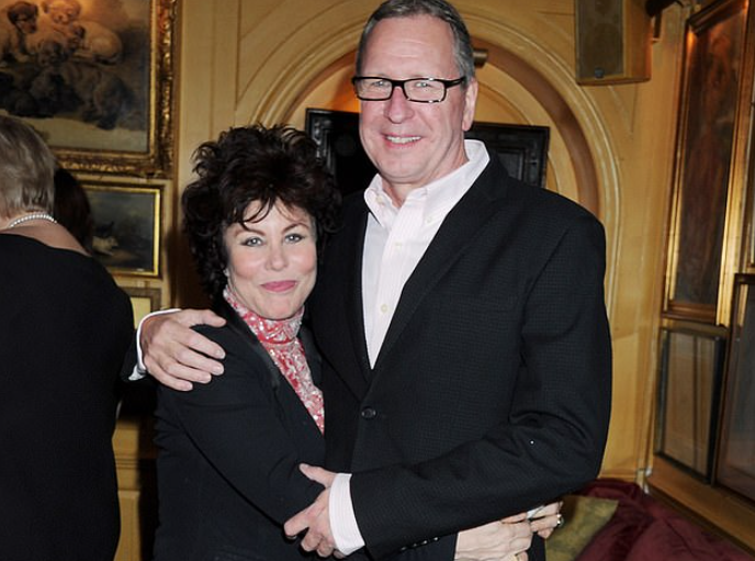 Ruby Wax and her husband, Ed Bye