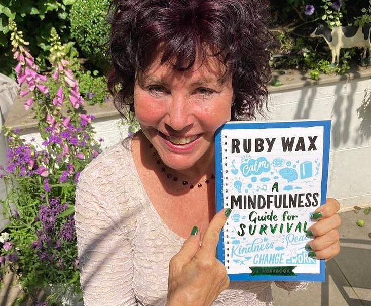 She released the book 'A Mindfulness Guide for the Frazzled' in January 2016