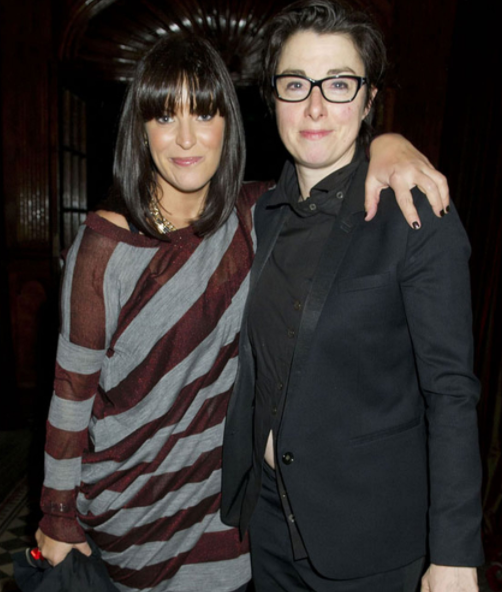 Anna Richardson and Sue Perkins Split
