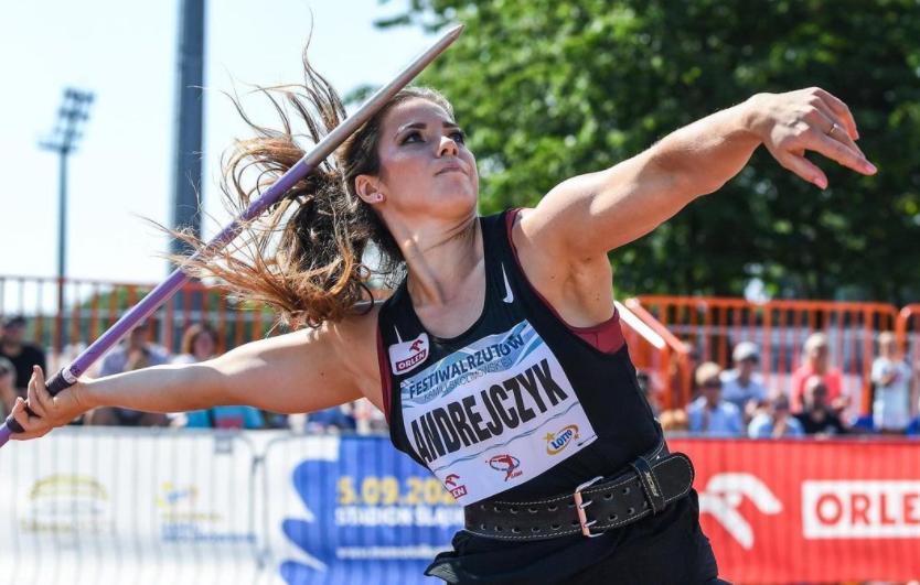 Polish track and field athlete, Maria Andrejczyk