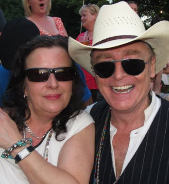 Brian Travers and his wife