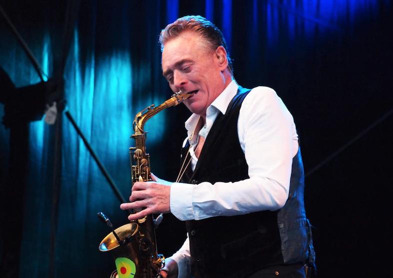 British saxophone player and songwriter, Brian Travers