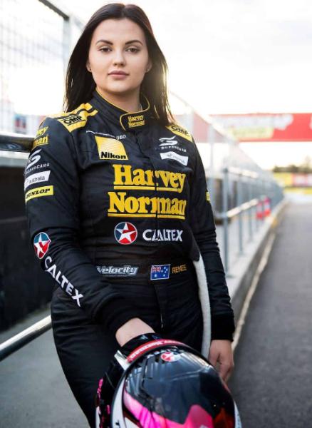 Former racing driver, Renee Gracie