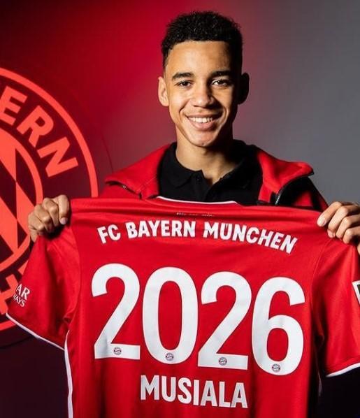 Jamal Musiala Bayern Munich