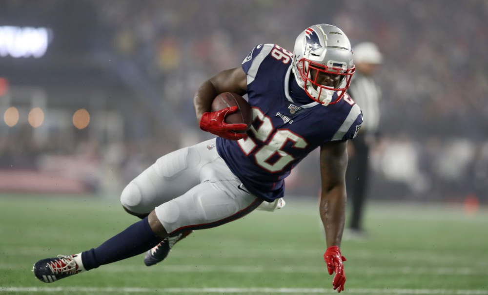 Sony Michel, Running Back for Los Angeles Rams