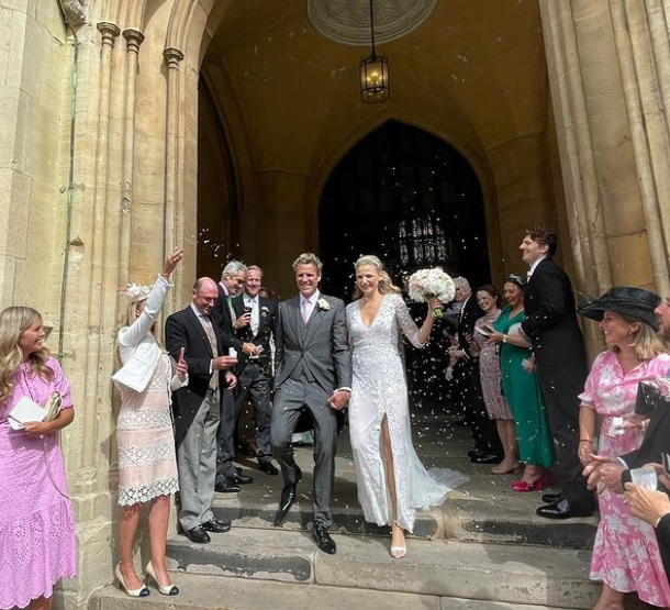 Jordan Connell and her husband, James Cracknell