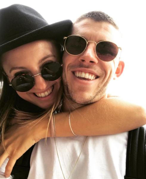 Ryan Christie and his girlfriend, Georgie Bell
