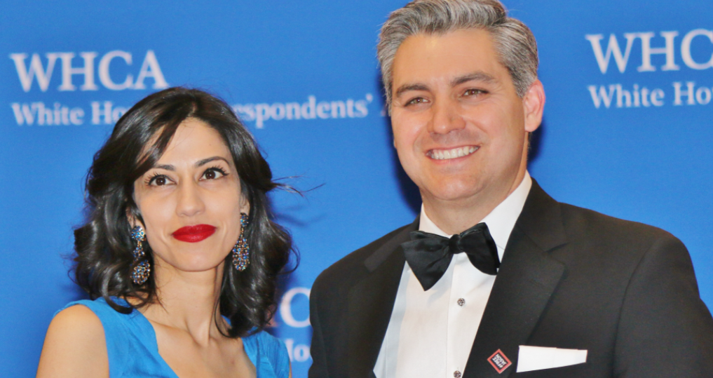 Jim Acosta and his ex-wife Sharon Mobley Stow