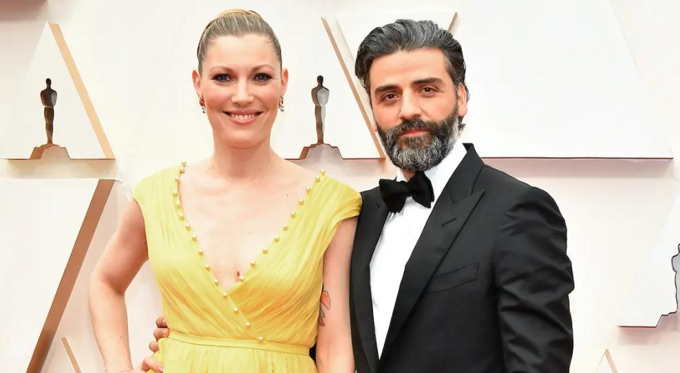 Oscar Isaac and his wife, Elvira Lind