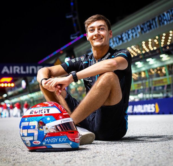 British racing driver, George Russell