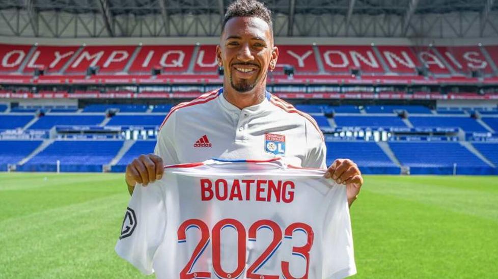 Jerome Boateng joined French side, Lyon till 2023