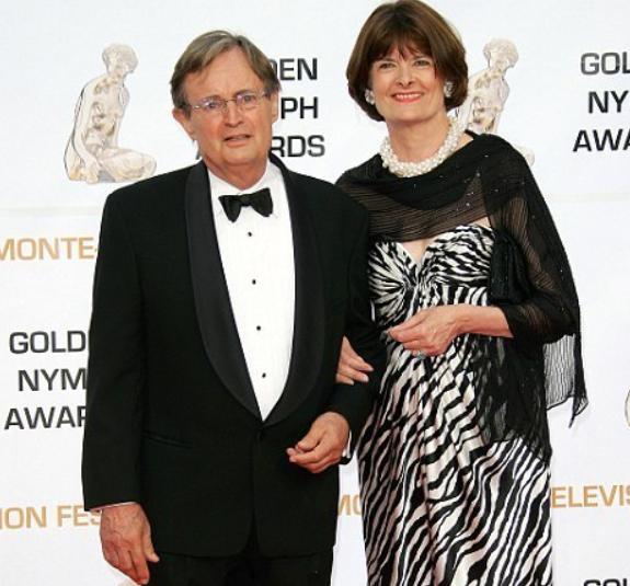 David McCallum and his second wife, Katherine Carpenter