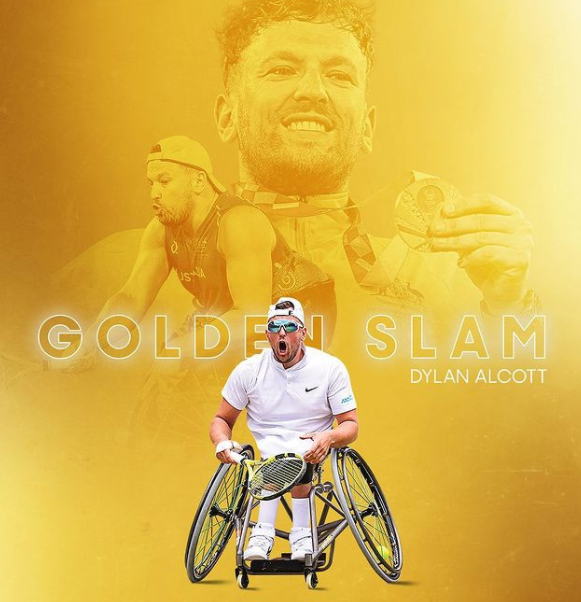 Dylan Alcott achieves 'golden slam' with US Open final victory