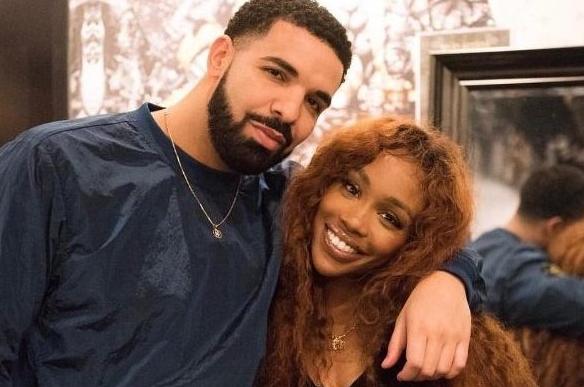 SZA and her ex-boyfriend, Drake