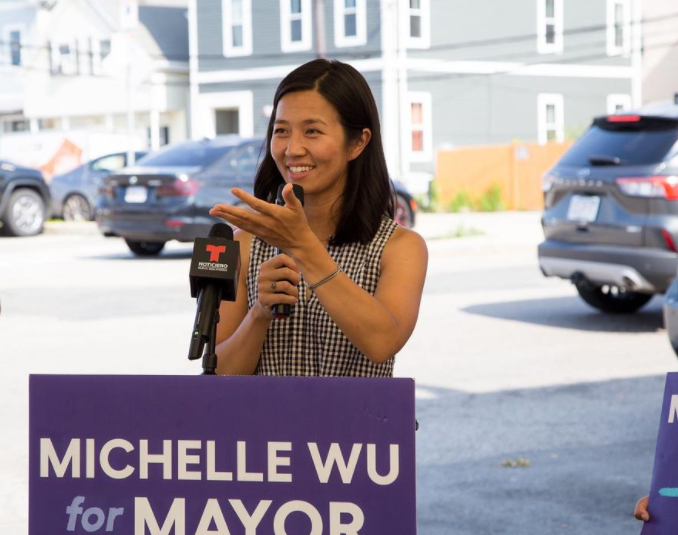 Michelle Wu, American Lawyer and Politician
