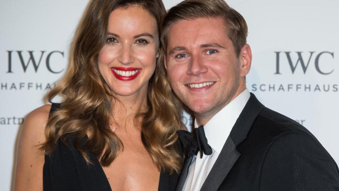 Charlie Webster and her ex-boyfriend Allen Leech