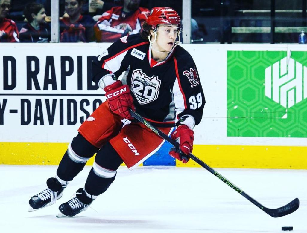 Canadian Ice Hockey Forward, Tyler Bertuzzi