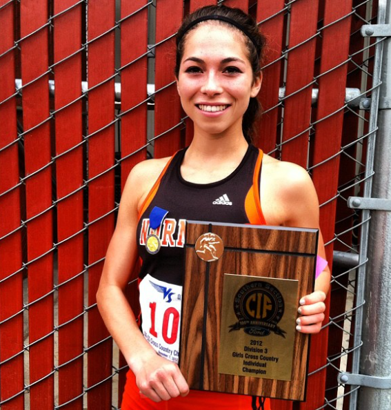 Sydney Segal was the state champion of California in 2012